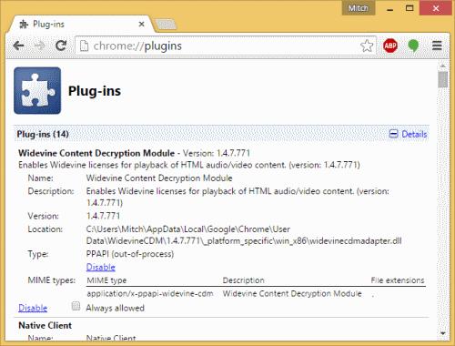 Widevine Content Decryption Module Update error - iTechGyan com